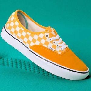 Vans confycush authentic yellow sneaker shoes chec